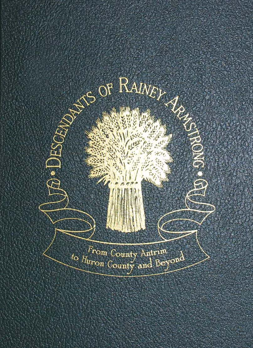 History Book Cover Ideas ~ Descendants of rainey armstrong family history book